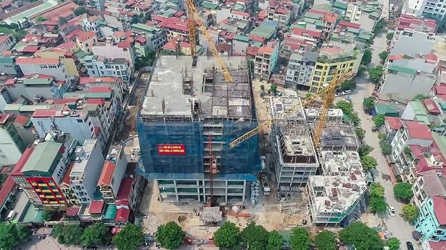 Hàng chục căn nhà nứt toác cạnh dự án chung cư đang xây - Ảnh 11.