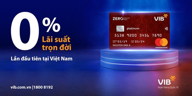 VIB ra mắt dòng thẻ tín dụng miễn lãi trọn đời - Ảnh 3.
