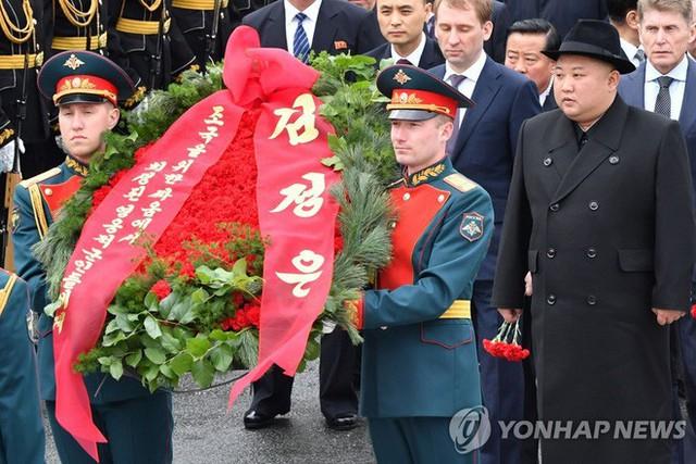 Yonhap: Ông Kim Jong Un bất ngờ cắt ngắn lịch trình thăm Nga, về nước sớm hơn dự kiến - Ảnh 1.