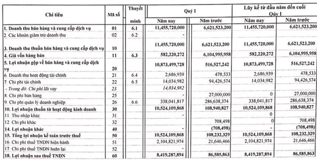 Đầu tư HP Việt Nam (KDM): Quý 1 lãi 8,4 tỷ đồng vượt 20% kế hoạch cả năm 2019 - Ảnh 1.