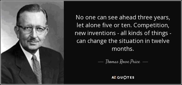 Thomas Rowe Price: Ngưởi cha đẻ dành cả cuộc đời nghiên cứu phương pháp đầu tư tăng trưởng - Ảnh 1.