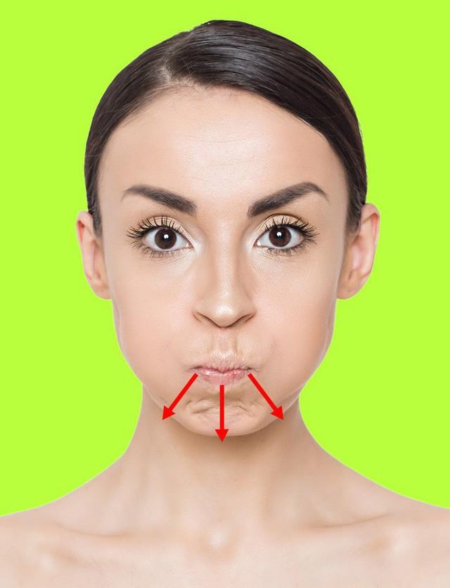 Không ngờ chỉ cần làm vài động tác này là đã giảm được nếp nhăn trên mặt và trẻ ra trông thấy - Ảnh 7.