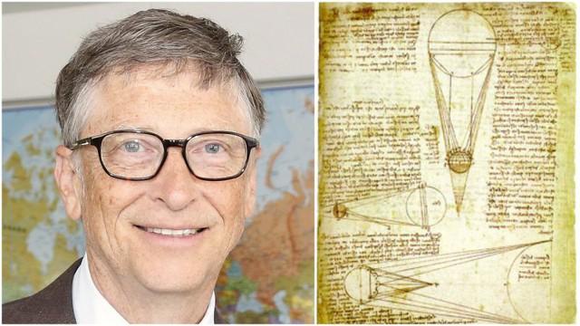 Nổi tiếng là tỷ phú sống giản dị nhưng 25 năm trước Bill Gates đã mạnh tay chi 30 triệu USD chỉ để mua một cuốn sách vì lý do đặc biệt này  - Ảnh 1.