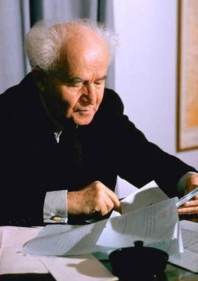 Chân dung David Ben Gurion: Từ nhân viên bảo vệ đến người cha già khai sinh ra đất nước Israel - Ảnh 3.