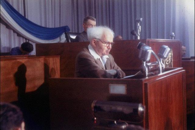 Chân dung David Ben Gurion: Từ nhân viên bảo vệ đến người cha già khai sinh ra đất nước Israel - Ảnh 6.