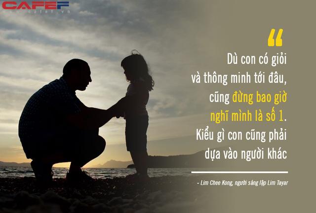 """Giật mình trước lời """"phũ phàng"""" ông trùm phụ tùng ô tô Malaysia dạy con gái """"ngậm thìa vàng"""": Đừng nói con là con ta hay nghĩ mình là số 1, vì con sẽ luôn phụ thuộc vào người khác! - Ảnh 4."""