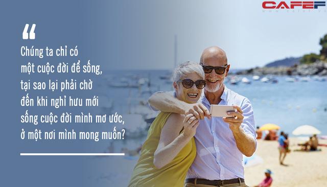 Mỗi người có khoảng 27.000 ngày để sống, thời gian còn lại của bạn là bao nhiêu?: Hạnh phúc hay không là do mình, đừng chờ nghỉ hưu rồi mới dám ước mơ! - Ảnh 1.