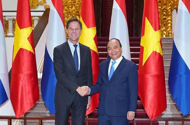 Toàn cảnh lễ đón Thủ tướng Hà Lan Mar Rutte thăm Việt Nam - Ảnh 4.