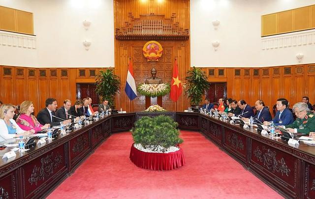 Toàn cảnh lễ đón Thủ tướng Hà Lan Mar Rutte thăm Việt Nam - Ảnh 5.