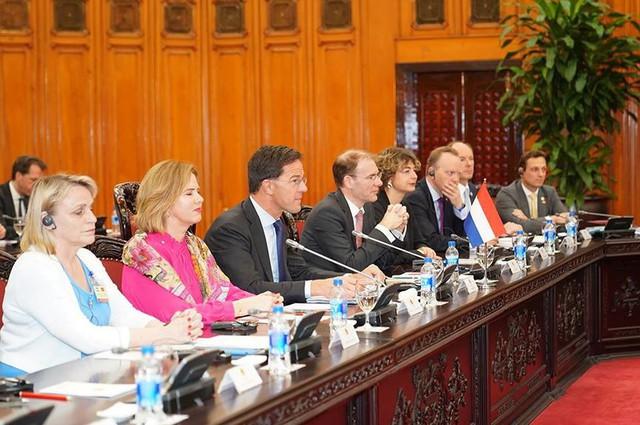 Toàn cảnh lễ đón Thủ tướng Hà Lan Mar Rutte thăm Việt Nam - Ảnh 7.