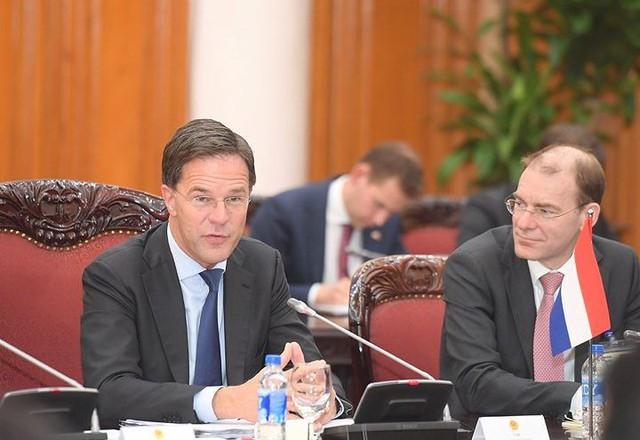 Toàn cảnh lễ đón Thủ tướng Hà Lan Mar Rutte thăm Việt Nam - Ảnh 9.