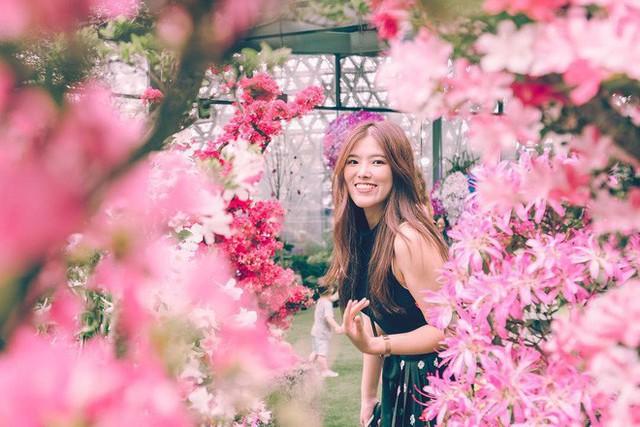 """Sau Jewel Changi, Singapore lại có thêm """"kỳ quan"""" vườn hoa treo khổng lồ khiến dân tình phải ngước lên """"mỏi cả cổ"""" để ngắm nhìn - Ảnh 26."""