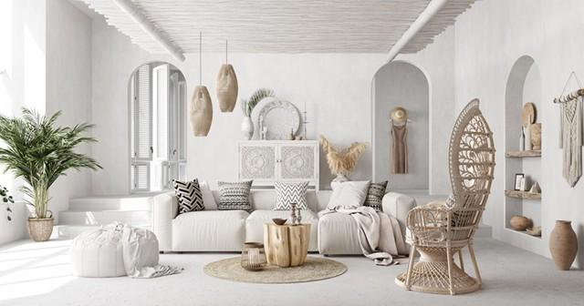 Ngôi nhà của bạn trở nên thơ mộng hơn với màu trắng tinh khôi - Ảnh 1.