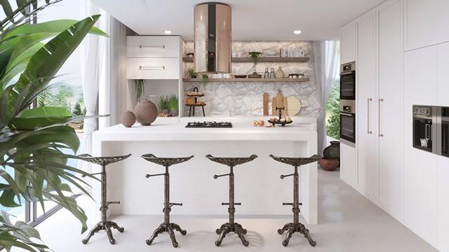 Ngôi nhà của bạn trở nên thơ mộng hơn với màu trắng tinh khôi - Ảnh 11.
