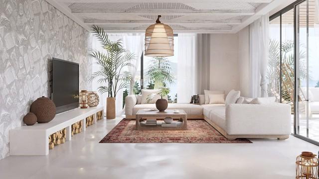 Ngôi nhà của bạn trở nên thơ mộng hơn với màu trắng tinh khôi - Ảnh 7.