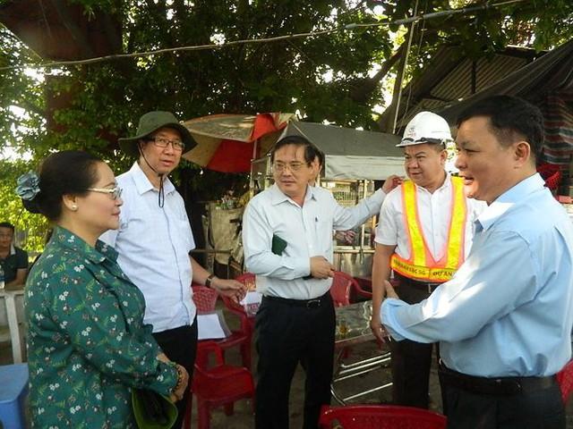 Tân Chủ tịch HĐND TPHCM kiểm tra dự án chống ngập 10.000 tỷ - Ảnh 1.