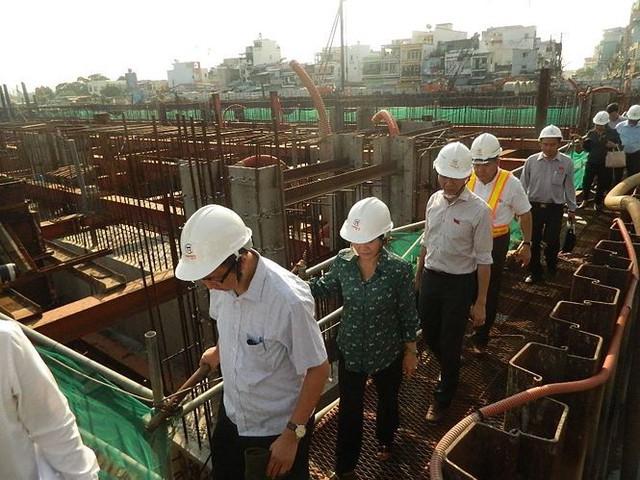 Tân Chủ tịch HĐND TPHCM kiểm tra dự án chống ngập 10.000 tỷ - Ảnh 2.