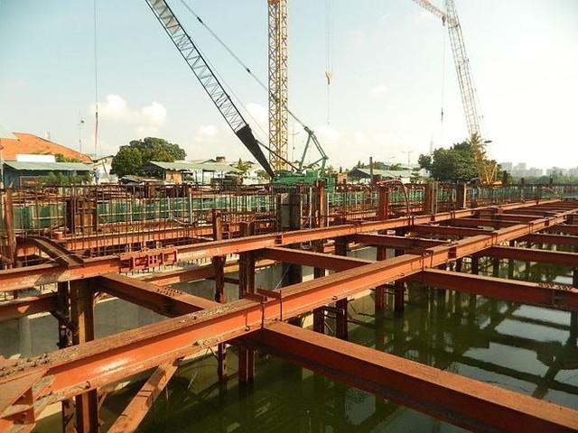 Tân Chủ tịch HĐND TPHCM kiểm tra dự án chống ngập 10.000 tỷ - Ảnh 3.