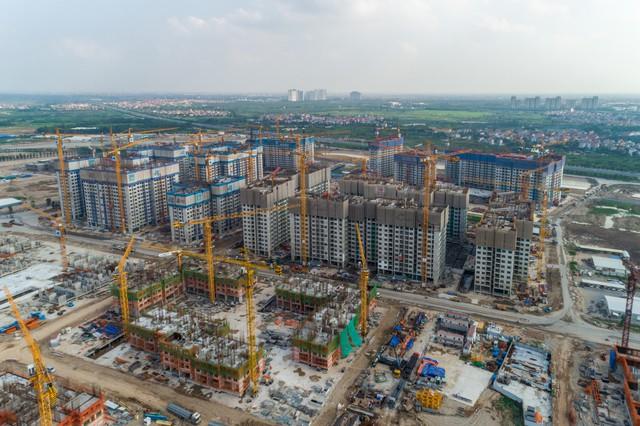 Cận cảnh tiến độ đại đô thị Vinhomes Ocean Park Gia Lâm, siêu dự án lớn nhất từ trước đến nay của Vingroup tại Hà Nội - Ảnh 4.