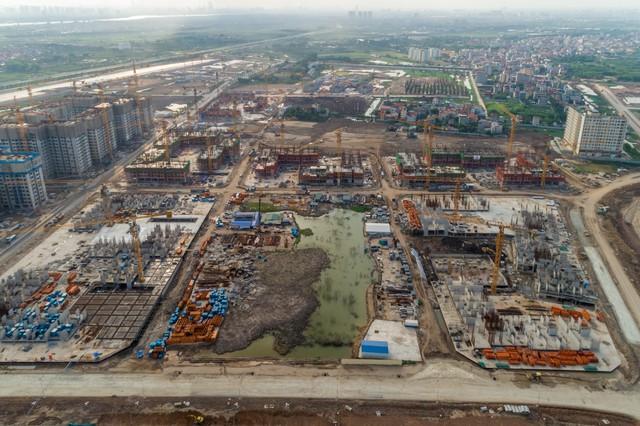 Cận cảnh tiến độ đại đô thị Vinhomes Ocean Park Gia Lâm, siêu dự án lớn nhất từ trước đến nay của Vingroup tại Hà Nội - Ảnh 9.
