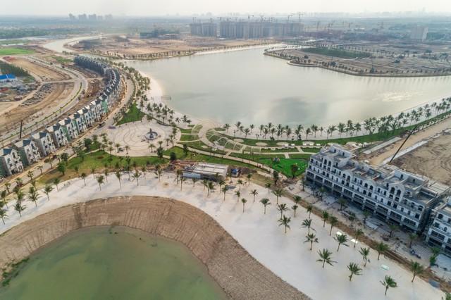 Cận cảnh tiến độ đại đô thị Vinhomes Ocean Park Gia Lâm, siêu dự án lớn nhất từ trước đến nay của Vingroup tại Hà Nội - Ảnh 10.
