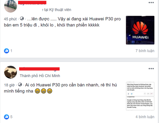 Điện thoại Huawei bị ép giá sau khi Huawei bị Google ngừng cấp phép Android - Ảnh 2.