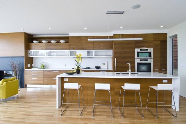 Mẫu căn bếp hiện đại cho gia đình trẻ - Ảnh 8.