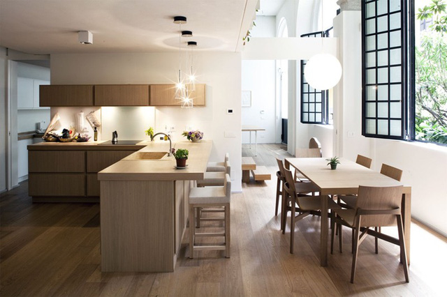 Mẫu căn bếp hiện đại cho gia đình trẻ - Ảnh 9.