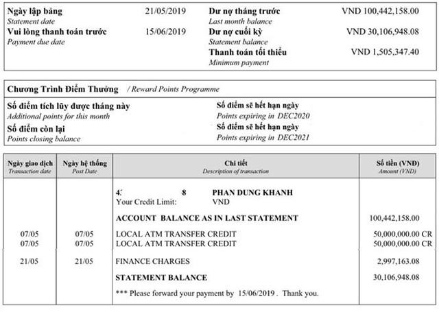 """Chi tiêu lớn, khách hàng """"choáng"""" với cách tính lãi suất khi dùng thẻ tín dụng HSBC - Ảnh 1."""