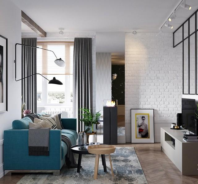 Căn hộ có 3 phòng ngủ rộng rãi nhờ cách sắp xếp nội thất - Ảnh 1.