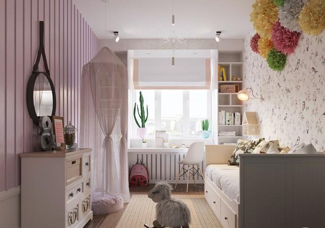 Căn hộ có 3 phòng ngủ rộng rãi nhờ cách sắp xếp nội thất - Ảnh 13.