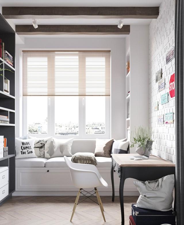 Căn hộ có 3 phòng ngủ rộng rãi nhờ cách sắp xếp nội thất - Ảnh 6.
