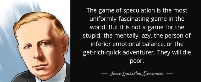 """[Quy tắc đầu tư vàng] Jesse Livermore – Những bài học đến từ nhà đầu cơ vĩ đại và """"bi kịch"""" nhất lịch sử phố Wall - Ảnh 1."""