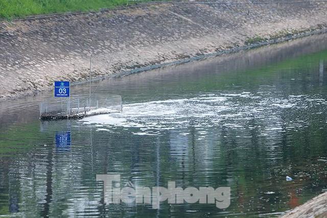 Nước sông Tô Lịch ra sao sau 10 ngày thí điểm bảo bối của Nhật? - Ảnh 4.
