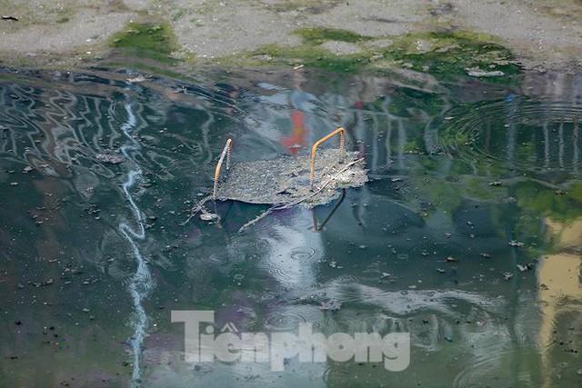 Nước sông Tô Lịch ra sao sau 10 ngày thí điểm bảo bối của Nhật? - Ảnh 5.
