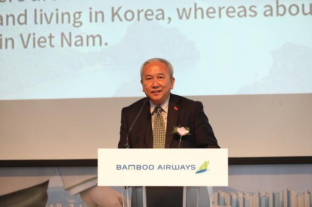 Tỷ phú Trịnh Văn Quyết chơi lớn, mở Tổng đại lý tại Hàn Quốc cho hãng hàng không Bamboo Airways - Ảnh 1.