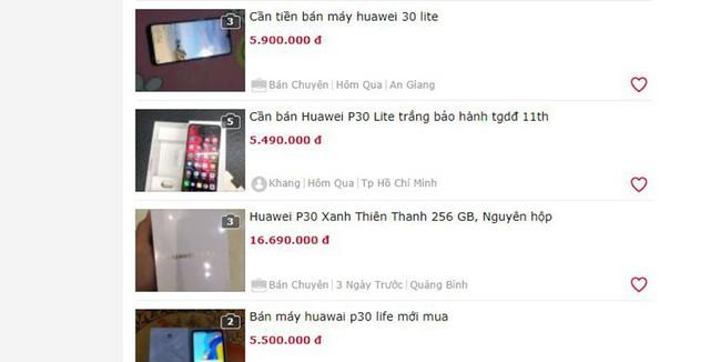 """Điện thoại Huawei: Người dùng bán """"tháo"""", nhà buôn khuyến mại """"khủng"""" - Ảnh 1."""