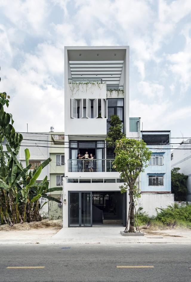 Ngôi nhà có thiết kế mở kết nối mọi thành viên - Ảnh 1.
