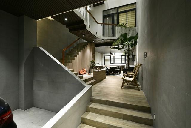 Ngôi nhà có thiết kế mở kết nối mọi thành viên - Ảnh 4.