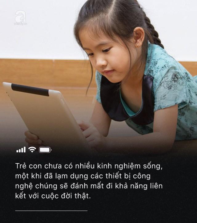 Con quấy khóc, bố mẹ cho chơi ngay smartphone: Đừng vì vài phút nhàn rỗi mà hủy hoại một đứa trẻ còn chưa kịp lớn! - Ảnh 6.