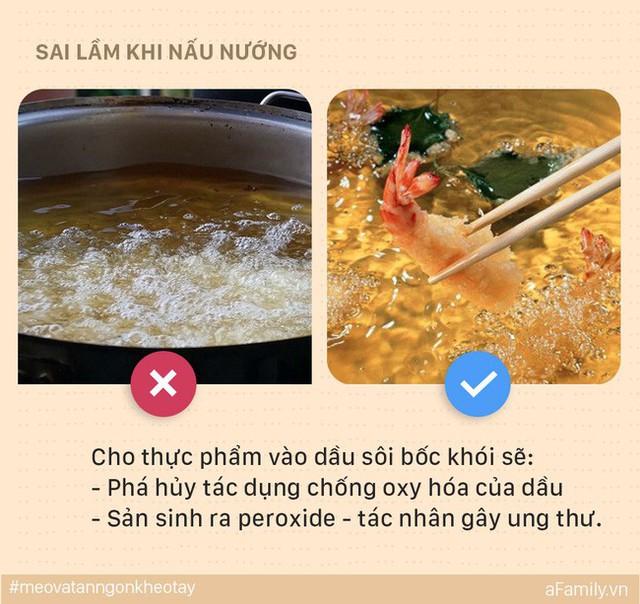 5 sai lầm mẹ dễ mắc khi nấu ăn có thể khiến cả nhà bị ung thư, đến lúc biết thì e đã muộn - Ảnh 2.