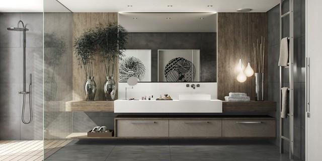 Mẫu phòng tắm đẹp hiện đại, phong cách - Ảnh 11.