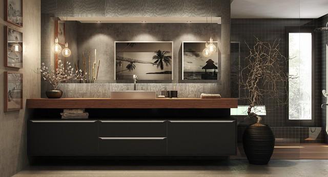Mẫu phòng tắm đẹp hiện đại, phong cách - Ảnh 12.