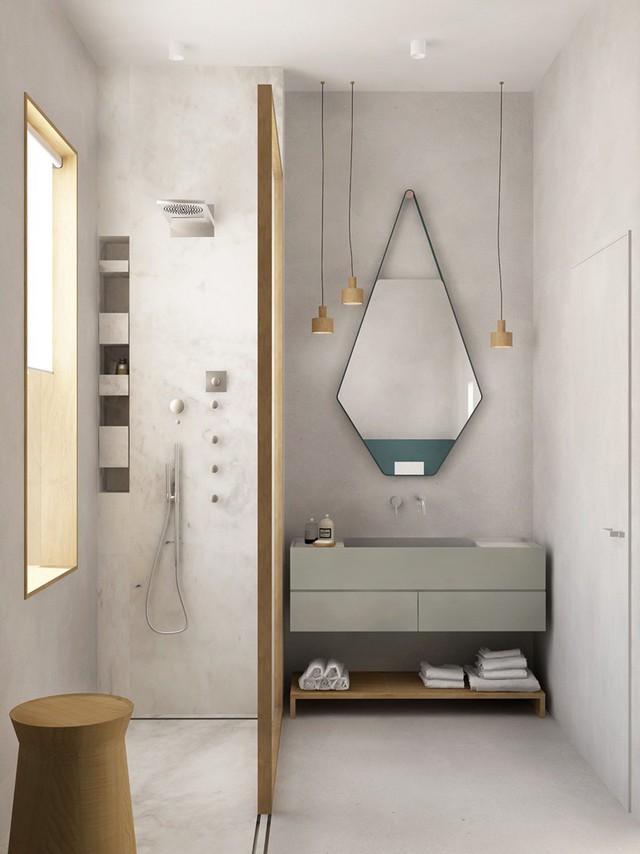 Mẫu phòng tắm đẹp hiện đại, phong cách - Ảnh 9.