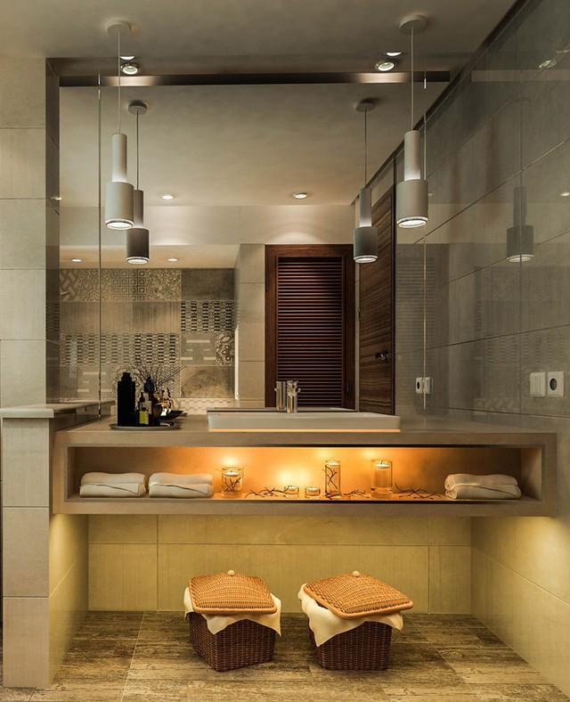Mẫu phòng tắm đẹp hiện đại, phong cách - Ảnh 10.