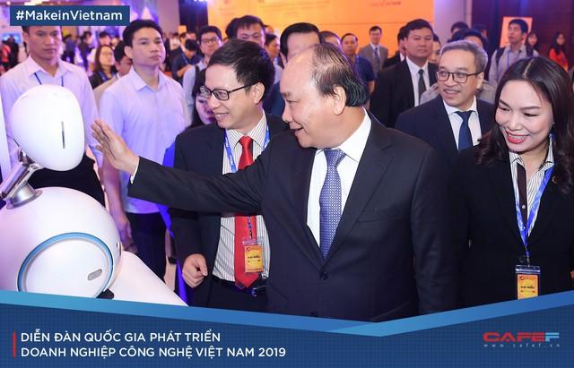 Những cung bậc cảm xúc tại Diễn đàn quốc gia Phát triển doanh nghiệp công nghệ Việt Nam 2019 - Ảnh 1.