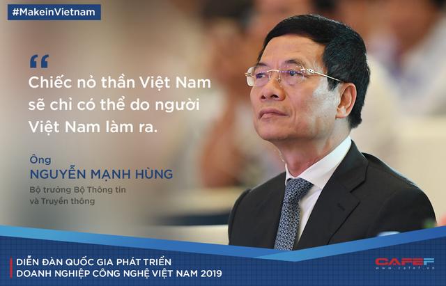 Bộ trưởng Nguyễn Mạnh Hùng: Trung Quốc có startup công nghệ sản xuất tên lửa tái sử dụng, vì nguyên nhân gì mà kỹ sư Việt Nam chẳng thể làm điều tương tự? - Ảnh 1.