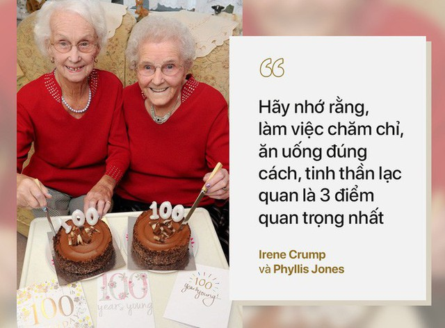 Cặp song sinh 100 tuổi: Tất cả bí quyết sống thọ chỉ là làm tốt 3 việc đơn giản hàng ngày - Ảnh 2.