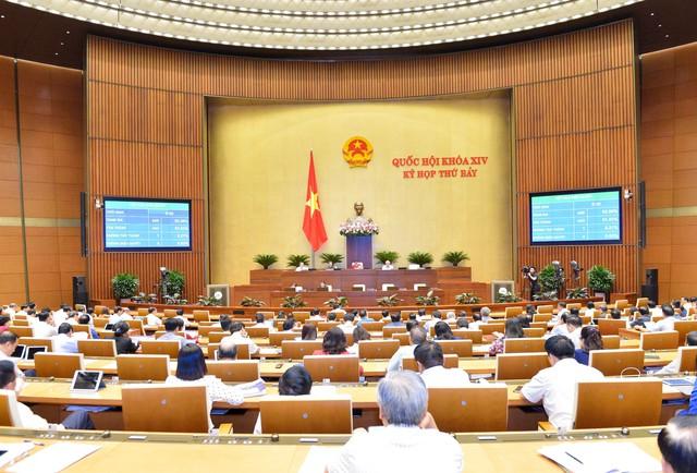 Quốc hội tiến hành phê chuẩn bổ nhiệm nhân sự; thảo luận 2 dự án luật - Ảnh 1.