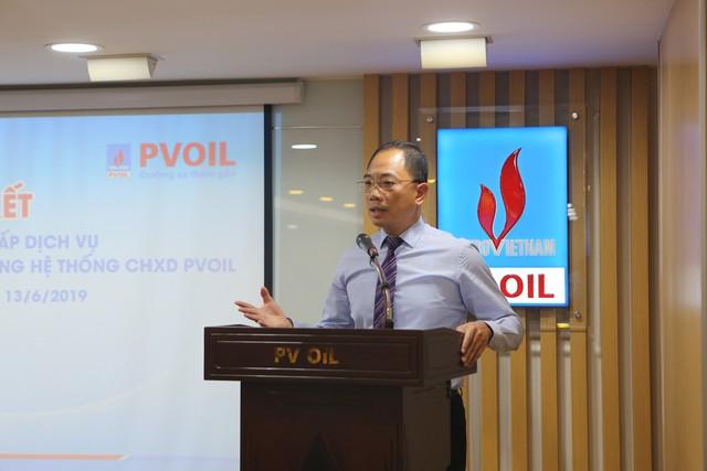 PVOIL tiên phong thanh toán mua xăng dầu không dùng tiền mặt - Ảnh 1.